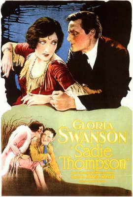 Sadie Thompson - 11 x 17 Movie Poster - Style A