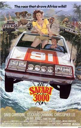 Safari 3000 - 11 x 17 Movie Poster - Style A