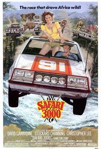 Safari 3000 - 27 x 40 Movie Poster - Style A