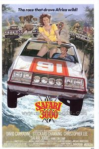 Safari 3000 - 43 x 62 Movie Poster - Bus Shelter Style A