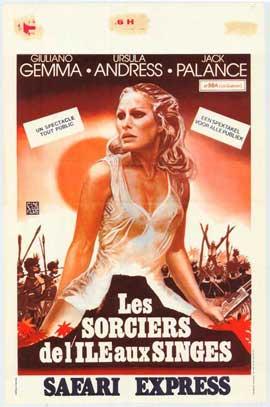 Safari Express - 11 x 17 Movie Poster - Belgian Style A