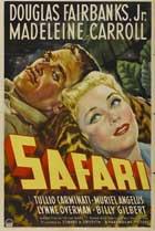 Safari - 11 x 17 Movie Poster - Style B
