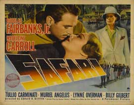 Safari - 22 x 28 Movie Poster - Half Sheet Style B