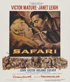 Safari - 11 x 17 Movie Poster - Style B