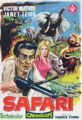 Safari - 11 x 17 Movie Poster - Spanish Style A