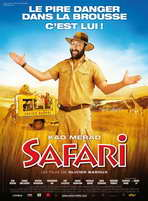 Safari - 11 x 17 Movie Poster - French Style A