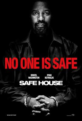 Safe House - 11 x 17 Movie Poster - Style B