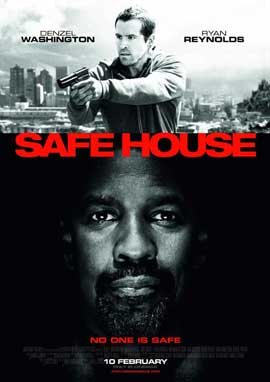 Safe House - 27 x 40 Movie Poster - Style A