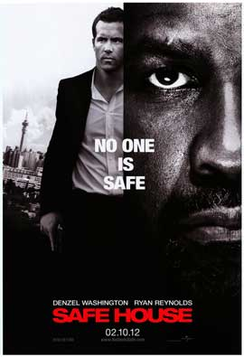 Safe House - DS 1 Sheet Movie Poster - Style B