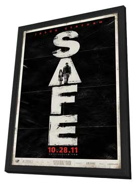 Safe - 27 x 40 Movie Poster - Style A - in Deluxe Wood Frame