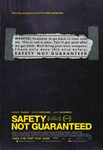 Safety Not Guaranteed - 11 x 17 Movie Poster - Style A