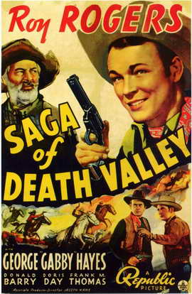 Saga of Death Valley - 11 x 17 Movie Poster - Style A