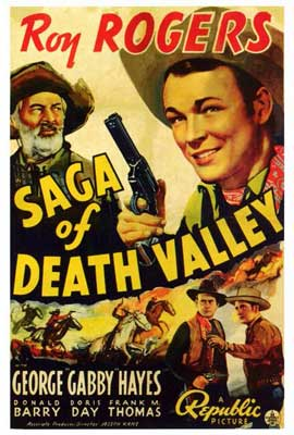 Saga of Death Valley - 27 x 40 Movie Poster - Style A