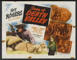 Saga of Death Valley - 11 x 17 Movie Poster - Style B