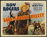 Saga of Death Valley - 11 x 17 Movie Poster - Style C
