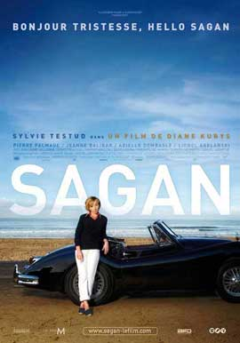 Sagan - 11 x 17 Movie Poster - French Style A