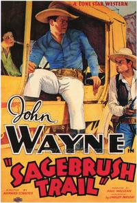 Sagebrush Trail - 43 x 62 Movie Poster - Bus Shelter Style A