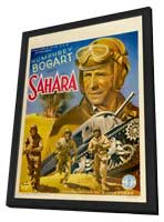 Sahara - 27 x 40 Movie Poster - Belgian Style A - in Deluxe Wood Frame