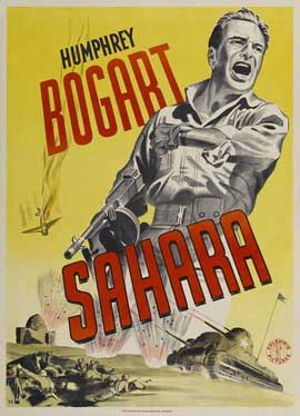 Sahara - 11 x 17 Movie Poster - Swedish Style A
