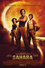 Sahara - 11 x 17 Movie Poster - Style B