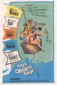 Sail a Crooked Ship - 11 x 17 Movie Poster - Style B
