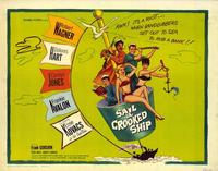 Sail a Crooked Ship - 22 x 28 Movie Poster - Half Sheet Style A