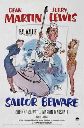 Sailor Beware - 11 x 17 Movie Poster - Style A