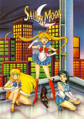 Sailor Moon (TV) - 11 x 17 TV Poster - Style A