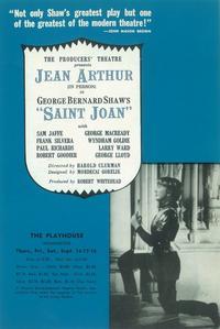 Saint Joan (Broadway) - 11 x 17 Poster - Style A