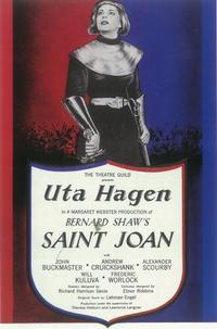 Saint Joan (Broadway) - 11 x 17 Poster - Style B