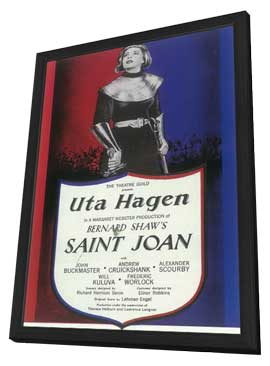 Saint Joan (Broadway) - 11 x 17 Poster - Style B - in Deluxe Wood Frame