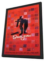Saint Joan - 27 x 40 Movie Poster - Style A - in Deluxe Wood Frame