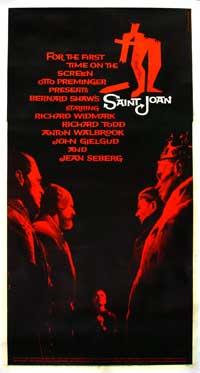 Saint Joan - 11 x 17 Movie Poster - Style B