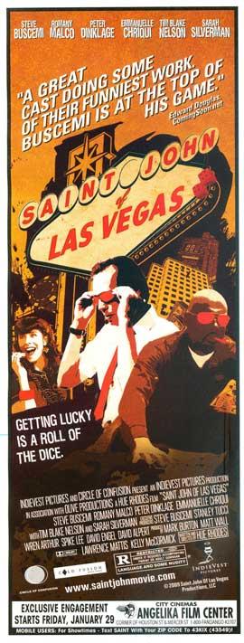 Saint John of Las Vegas - 14 x 36 Movie Poster - Insert Style A