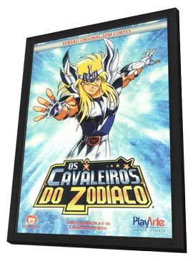 Saint Seiya - 11 x 17 Movie Poster - Portuguese Style A - in Deluxe Wood Frame