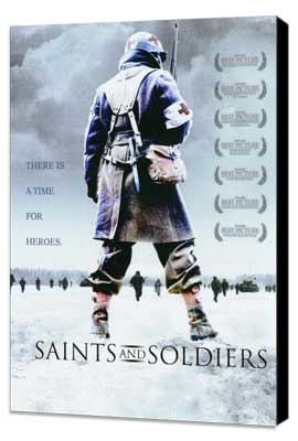 Saints and Soldiers - 27 x 40 Movie Poster - Style A - Museum Wrapped Canvas