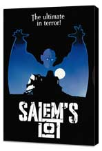 Salem's Lot - 27 x 40 Movie Poster - Style C - Museum Wrapped Canvas