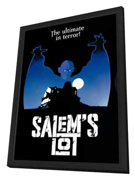 Salem's Lot - 27 x 40 Movie Poster - Style C - in Deluxe Wood Frame