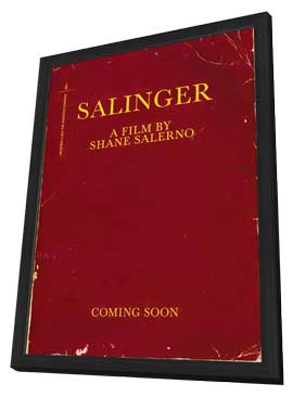 Salinger - 11 x 17 Movie Poster - Style A - in Deluxe Wood Frame