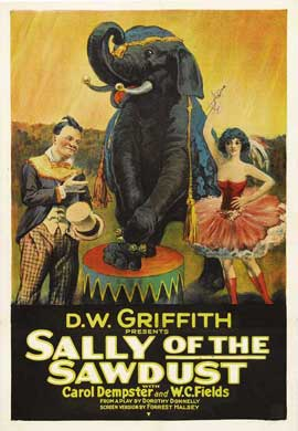 Sally of the Sawdust - 27 x 40 Movie Poster - Style B