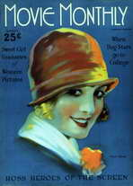 Sally Rand - 11 x 17 Movie Monthly Magazine Cover 1920's