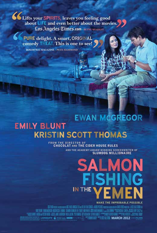 Salmon fishing in the yemen movie posters from movie for Salmon fishing in the yemen