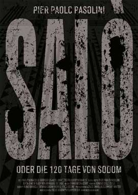 Salo, or the 120 Days of Sodom - 11 x 17 Movie Poster - German Style A