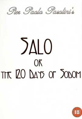 Salo, or the 120 Days of Sodom - 11 x 17 Movie Poster - Russian Style A