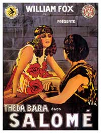 Salome - 11 x 17 Movie Poster - French Style B