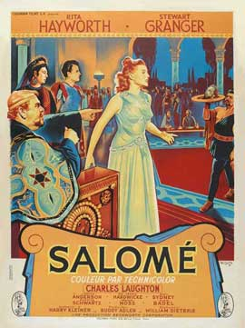 Salome - 11 x 17 Movie Poster - French Style A