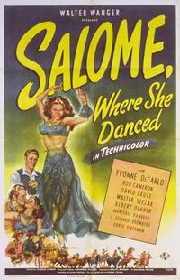Salome, Where She Danced - 11 x 17 Movie Poster - Style B