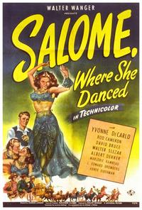 Salome, Where She Danced - 27 x 40 Movie Poster - Style A