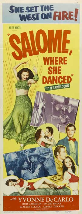Salome Where She Danced - 11 x 17 Movie Poster - Style A