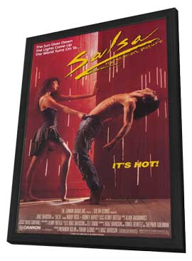 Salsa - 11 x 17 Movie Poster - Style A - in Deluxe Wood Frame